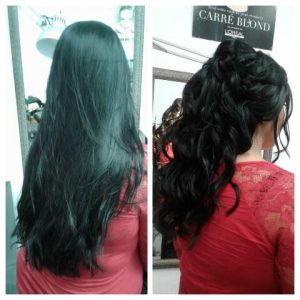 Sheek Salaon Scarborough wedding hairstyling